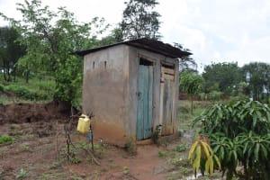 The Water Project: Mwau Community -  Latrine