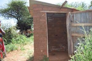 The Water Project: Kathuli Community -  Latrines