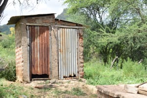 The Water Project: Tulimani Community -  Latrines