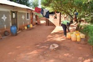 The Water Project: Utuneni Community B -  Compound