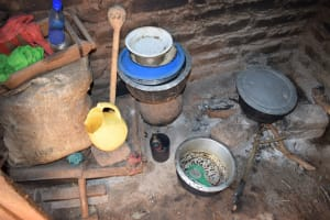 The Water Project: Utuneni Community B -  Cooking Area