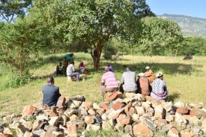 The Water Project: Utuneni Community B -  Self Help Group Members Meeting