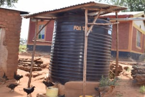 The Water Project: Kala Community B -  Water Storage Container At Household