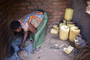 The Water Project: Mbiuni Community -  Inside Kitchen