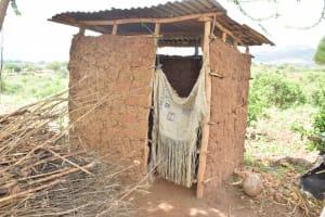 The Water Project: Mbiuni Community -  Latrine
