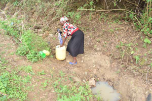 The Water Project: Mbiuni Community -  Picking Up Container