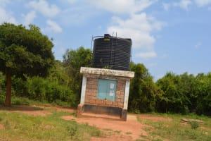 The Water Project: Katovya Community -  Community Kiosk