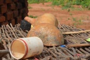 The Water Project: Katovya Community -  Dish Rack
