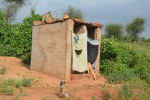 The Water Project: Katovya Community -  Latrine