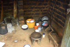 The Water Project: Mwau Community A -  Kitchen