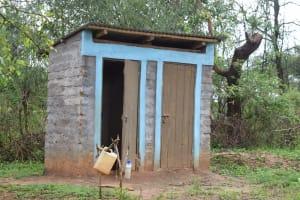 The Water Project: Mwau Community A -  Latrines