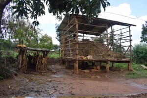 The Water Project: Mwau Community A -  Livestock And Chicken Pens