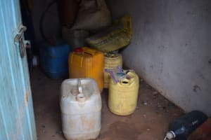 The Water Project: Mwau Community A -  Water Storage Containers
