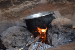 The Water Project: Kathuli Community A -  Cooking Food