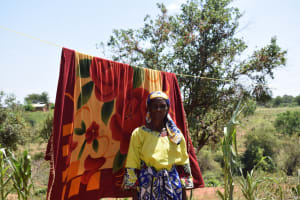 The Water Project: Kathuli Community A -  Hanging Clothes
