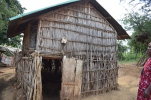 The Water Project: Tulimani Community A -  Animal Pen