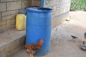 The Water Project: Tulimani Community A -  Large Water Storage Container