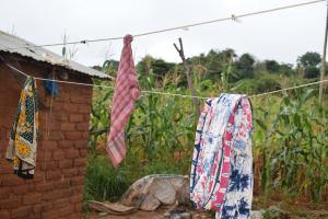 The Water Project: Kathungutu Community A -  Clothesline