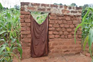 The Water Project: Kathungutu Community A -  Latrine