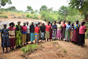The Water Project: Kathungutu Community A -  Members Of The Self Help Group