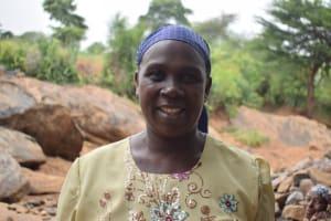 The Water Project: Kathungutu Community A -  Salina Mwende