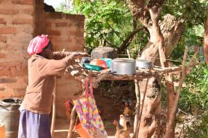 The Water Project: Utuneni Community C -  Dish Rack