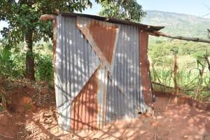 The Water Project: Utuneni Community C -  Latrine