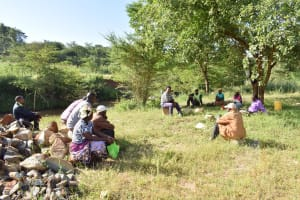 The Water Project: Utuneni Community C -  Self Help Group Meeting