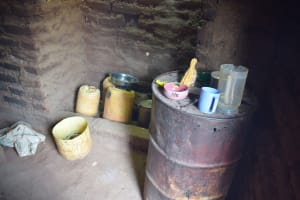 The Water Project: Utuneni Community C -  Water Storage Containers