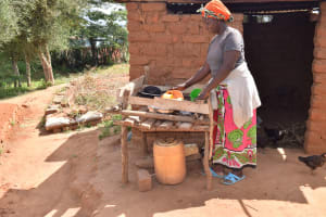 The Water Project: Kala Community C -  Dish Drying Rack