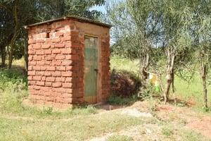 The Water Project: Kala Community C -  Bathroom