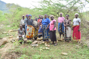 The Water Project: Mbiuni Community A -  Self Help Group Members