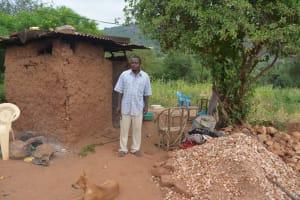 The Water Project: Katovya Community A -  Bernard At Home