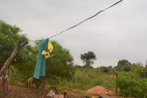The Water Project: Katovya Community A -  Clothesline