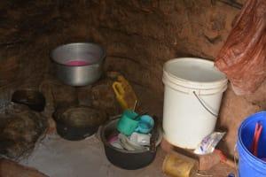 The Water Project: Katovya Community A -  Cook Stove
