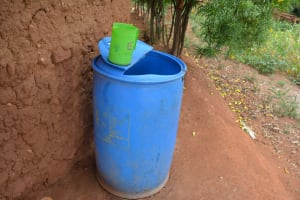 The Water Project: Katovya Community A -  Water Storage Container