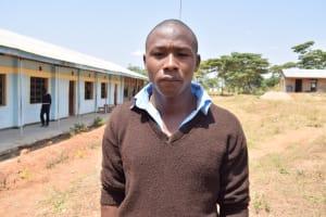 The Water Project: Kyamatula Secondary School -  Eric Mwenda