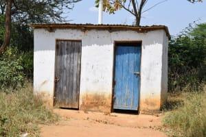 The Water Project: Kyamatula Secondary School -  Girls Latrines