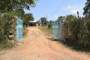 The Water Project: Kyamatula Secondary School -  School Front Gate