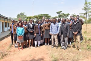 The Water Project: Kyamatula Secondary School -  Staff And Students