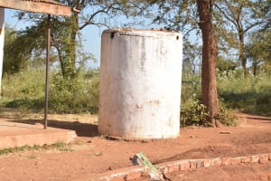 The Water Project: Kituluni Primary School -  Decomissioned Water Tank