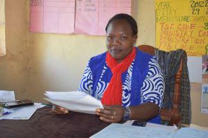 The Water Project: Kituluni Primary School -  Domitila Mutunga