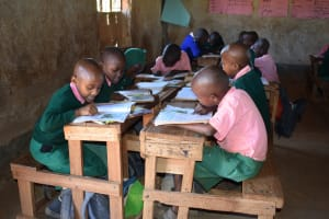 The Water Project: Kituluni Primary School -  Students In Class