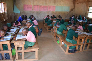 The Water Project: Kituluni Primary School -  Studying
