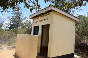 The Water Project: AIC Kyome Girls' Secondary School -  Additional Latrines