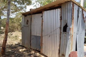 The Water Project: AIC Kyome Girls' Secondary School -  Decomissioned Latrines
