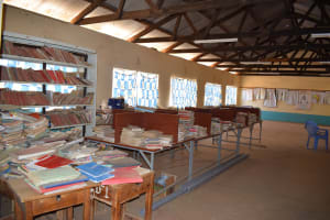 The Water Project: AIC Kyome Girls' Secondary School -  Library