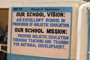 The Water Project: AIC Kyome Girls' Secondary School -  School Vision And Mission