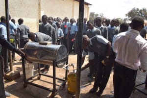 The Water Project: Kalulini Boys' Secondary School -  Afternoon Tea Break
