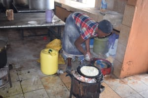 The Water Project: Kalulini Boys' Secondary School -  Cooking Lunch